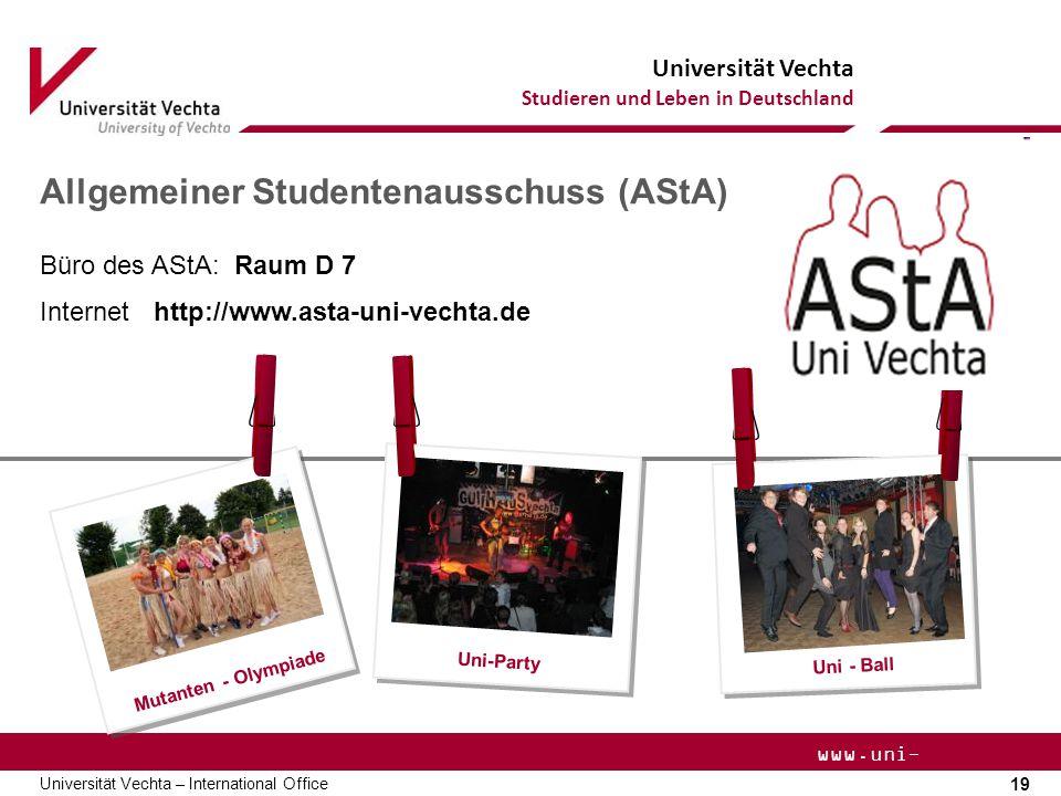 Allgemeiner Studentenausschuss (AStA)