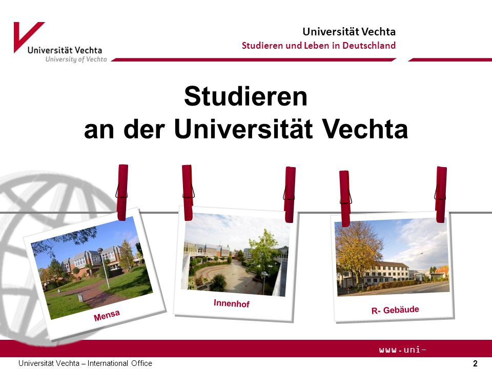 an der Universität Vechta