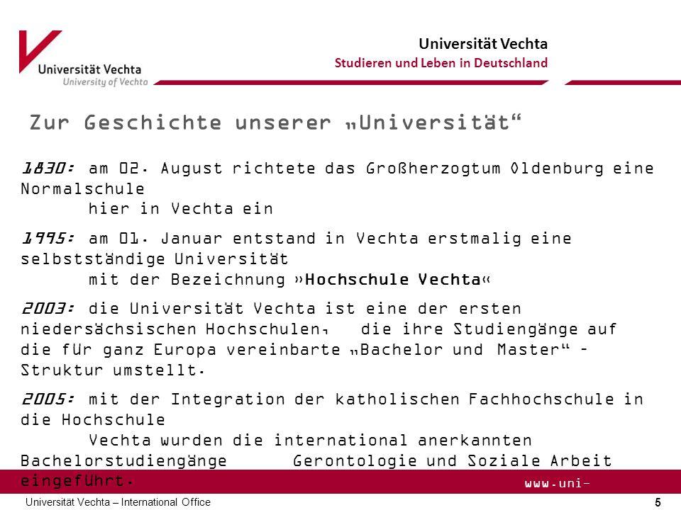 """Zur Geschichte unserer """"Universität"""