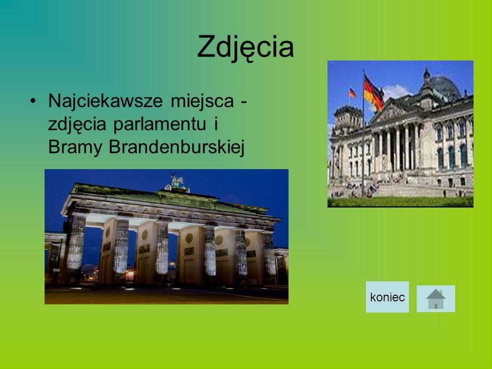 Zdjęcia Najciekawsze miejsca - zdjęcia parlamentu i Bramy Brandenburskiej koniec