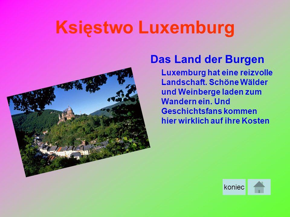 Księstwo Luxemburg Das Land der Burgen