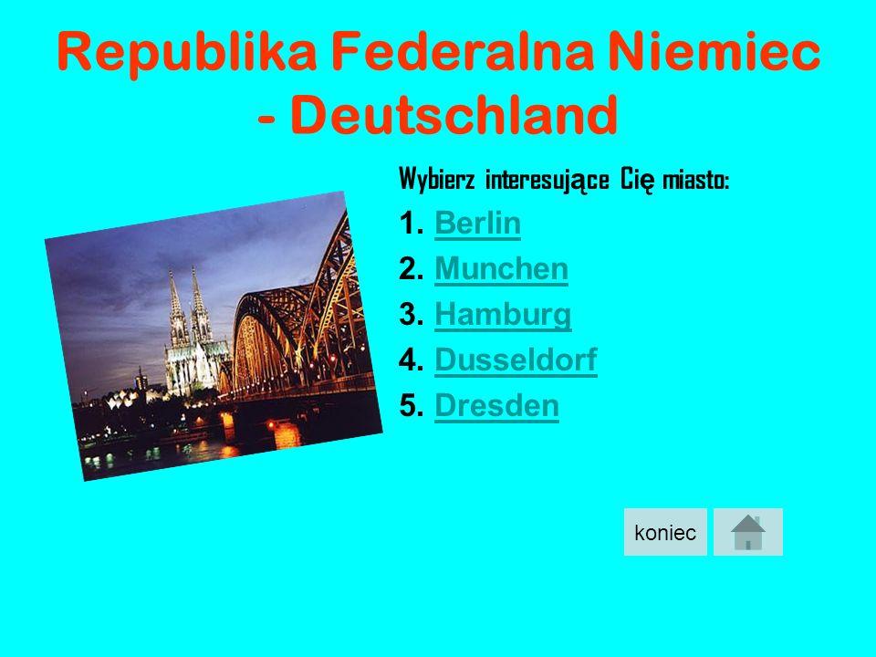 Republika Federalna Niemiec - Deutschland