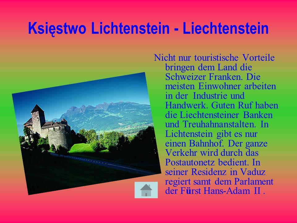 Księstwo Lichtenstein - Liechtenstein