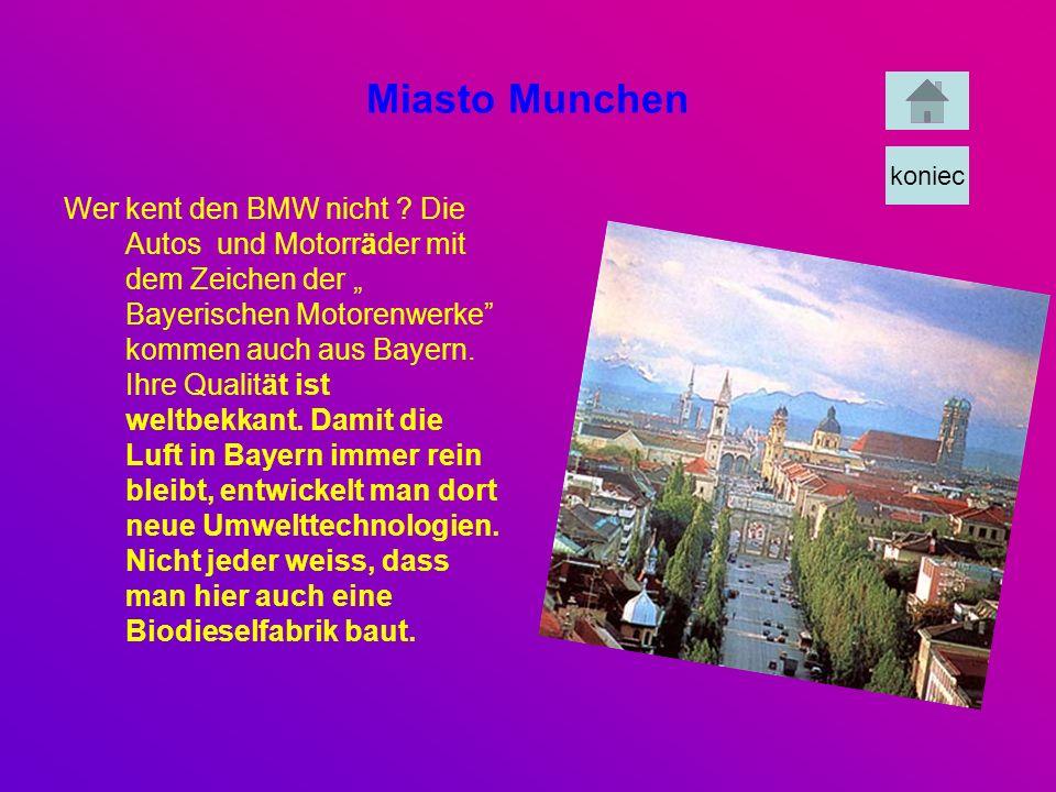 Miasto Munchen koniec.