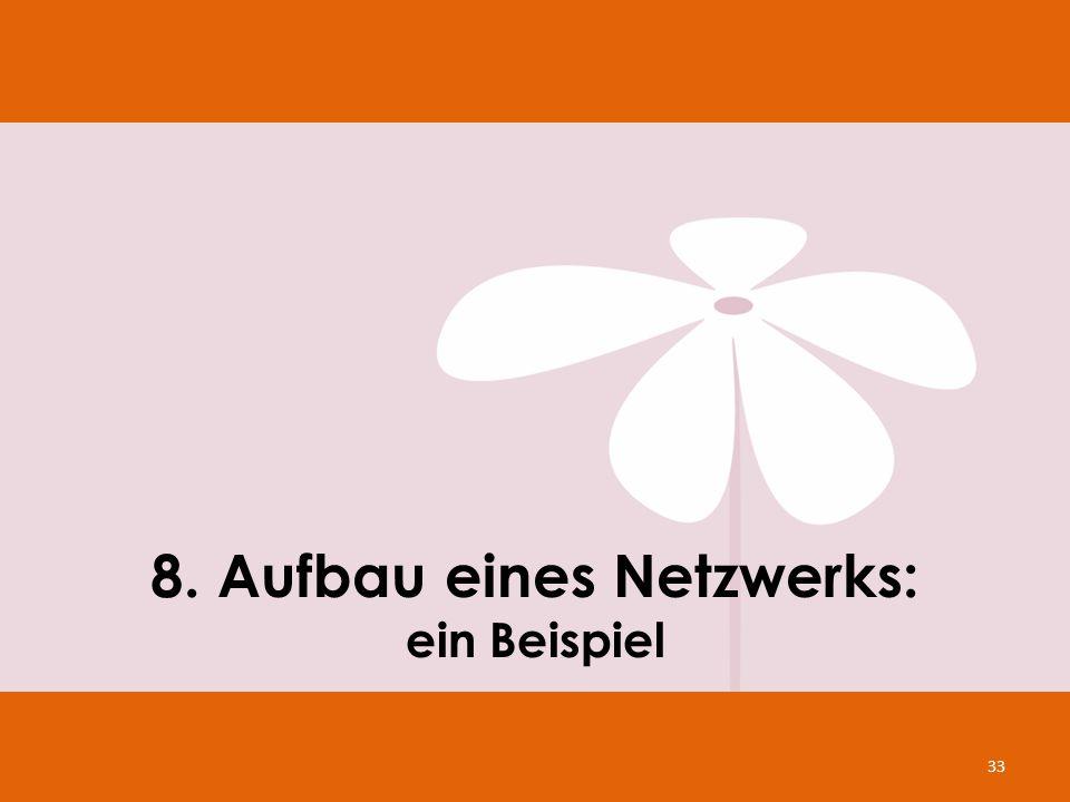 8. Aufbau eines Netzwerks: ein Beispiel
