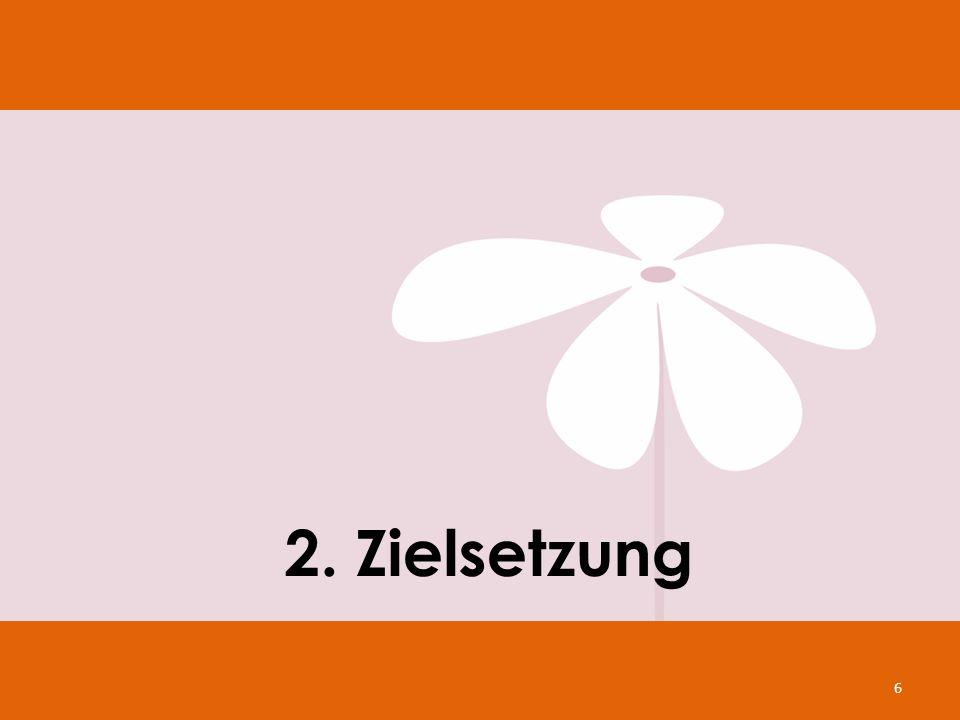 2. Zielsetzung