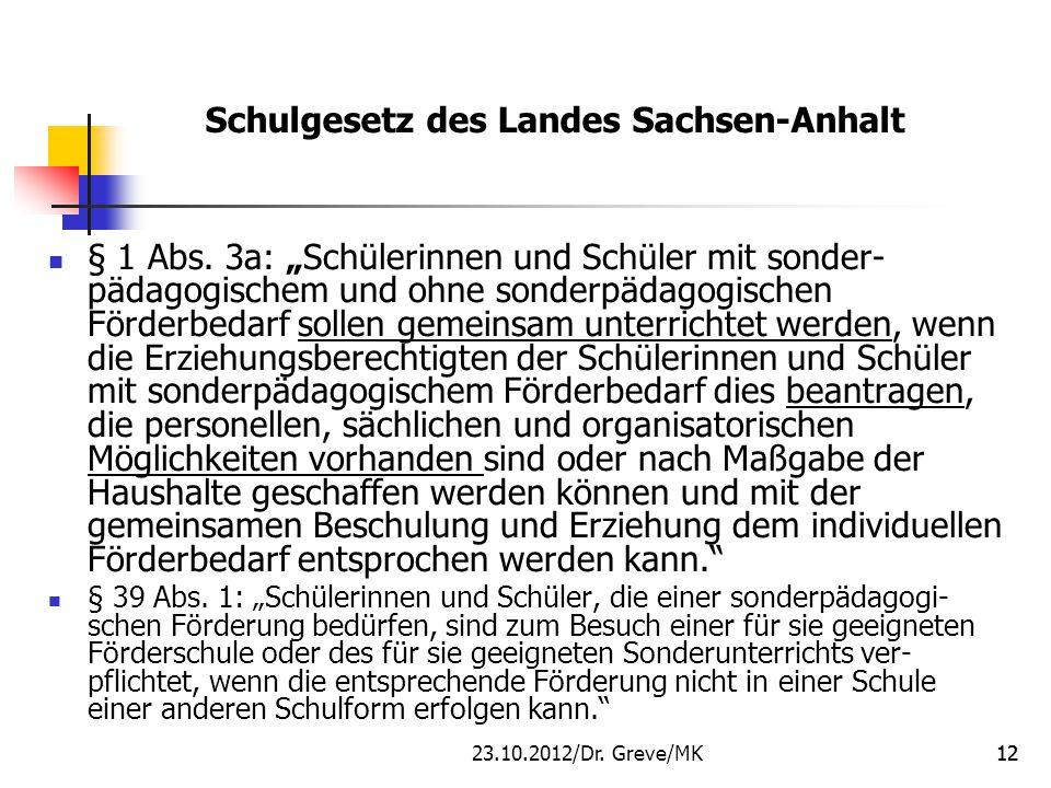 Schulgesetz des Landes Sachsen-Anhalt