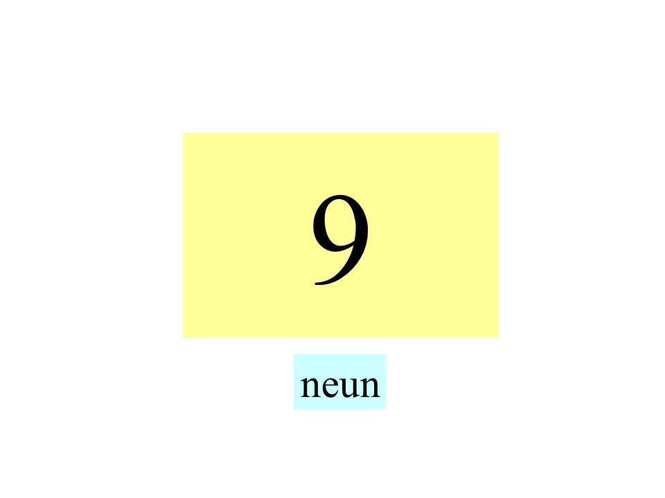 9 neun