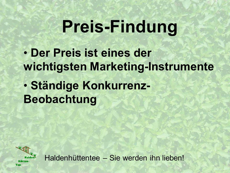 Der Preis ist eines der wichtigsten Marketing-Instrumente