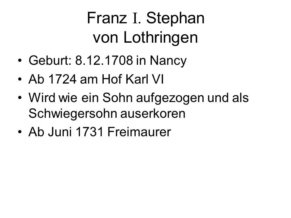 Franz I. Stephan von Lothringen