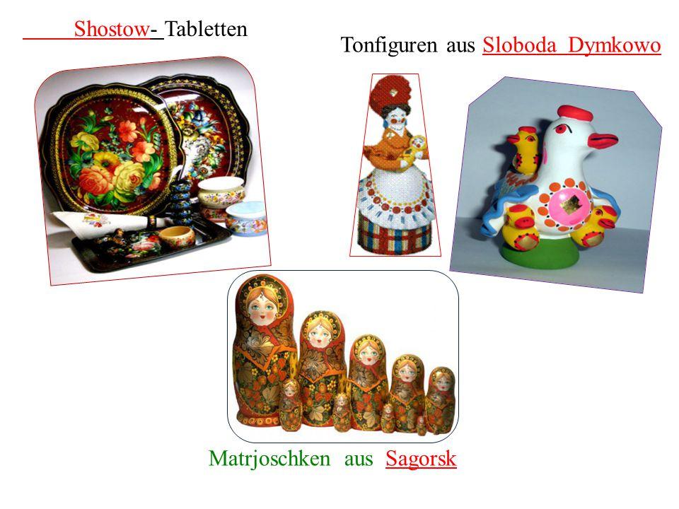 Matrjoschken aus Sagorsk