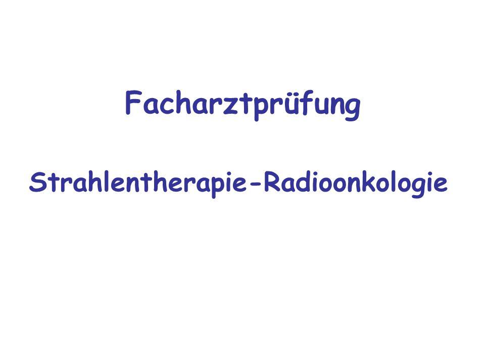 Strahlentherapie-Radioonkologie