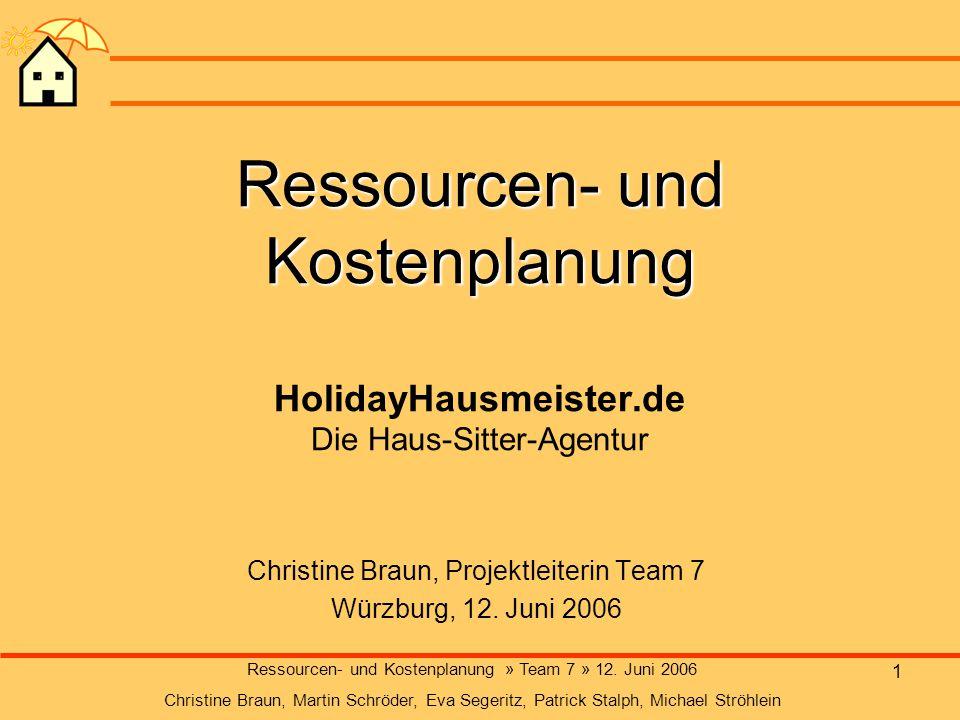 Christine Braun, Projektleiterin Team 7 Würzburg, 12. Juni 2006