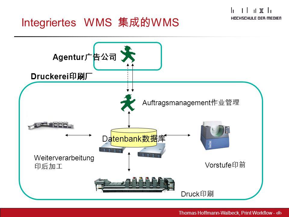Integriertes WMS 集成的WMS