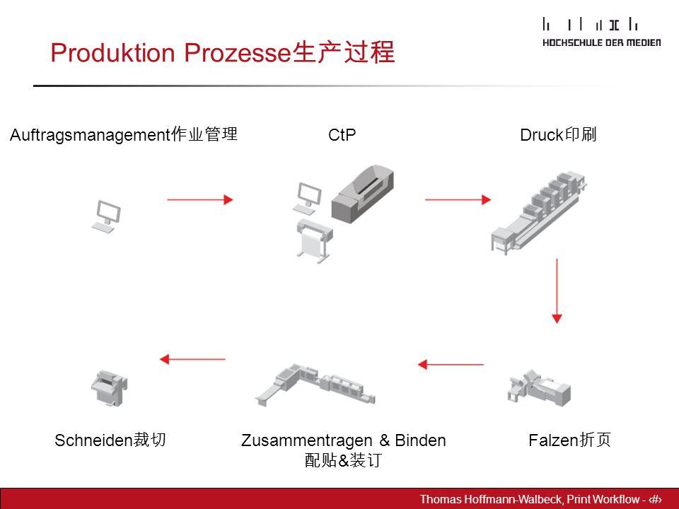 Produktion Prozesse生产过程