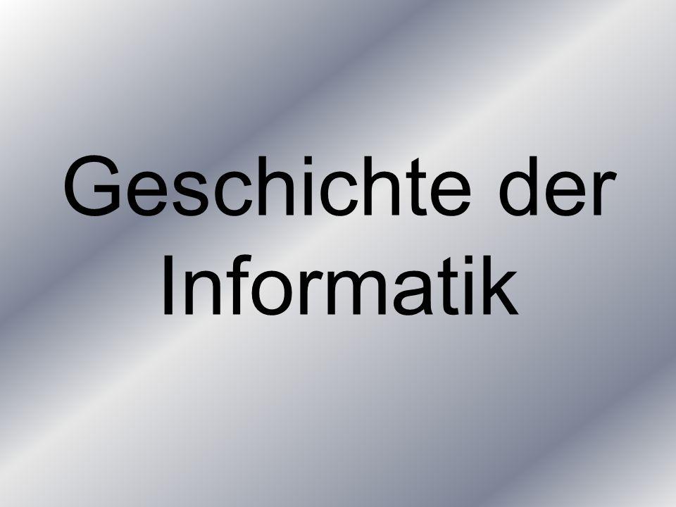 Geschichte der Informatik