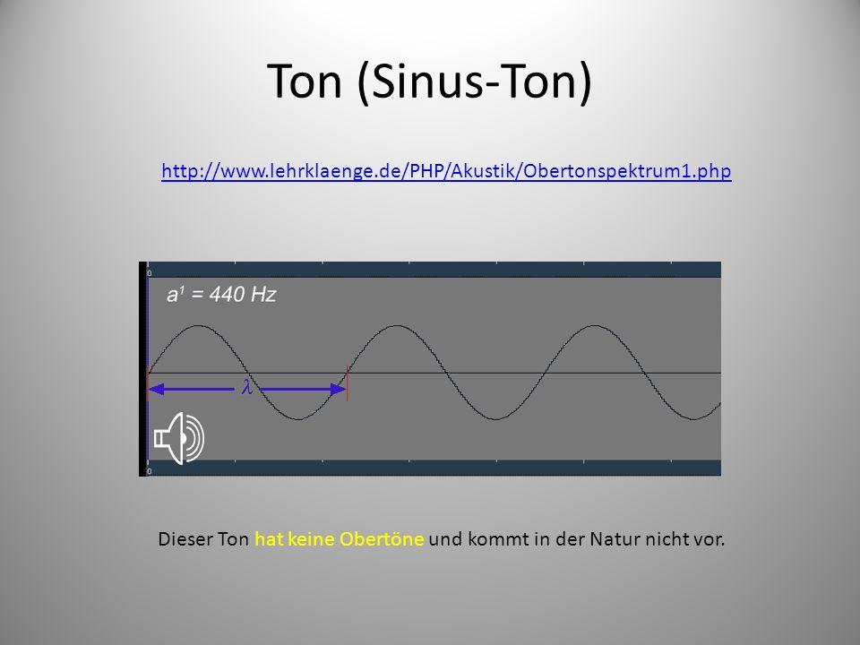 Ton (Sinus-Ton) http://www.lehrklaenge.de/PHP/Akustik/Obertonspektrum1.php.