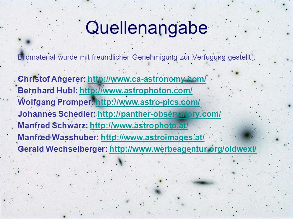 Quellenangabe Christof Angerer: http://www.ca-astronomy.com/