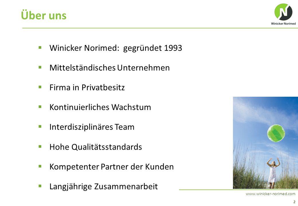 Über uns Winicker Norimed: gegründet 1993