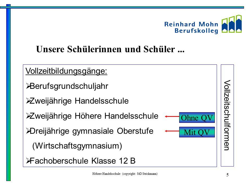 Höhere Handelsschule (copyright: StD Strickmann)