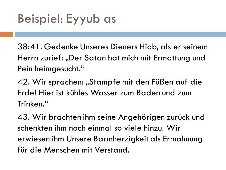 Beispiel: Eyyub as