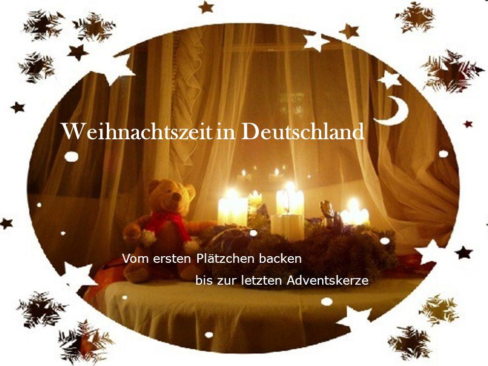 Weihnachtszeit in Deutschland