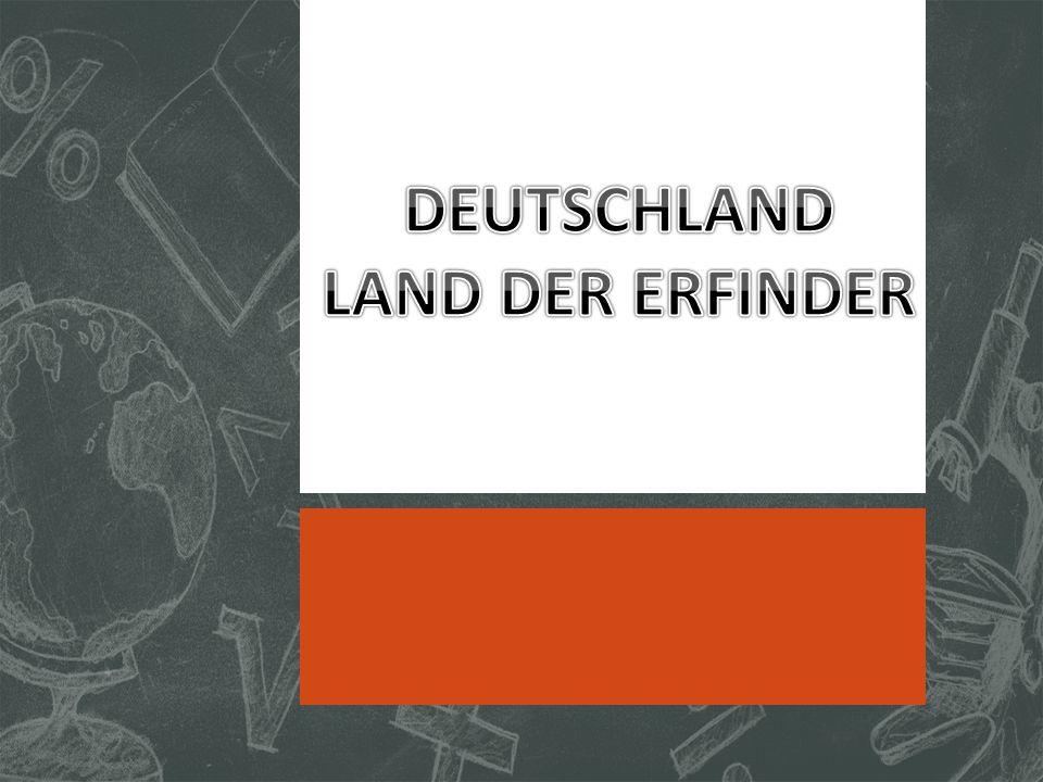 DEUTSCHLAND LAND DER ERFINDER
