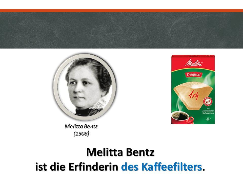 ist die Erfinderin des Kaffeefilters.