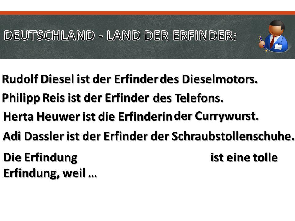 DEUTSCHLAND - LAND DER ERFINDER: