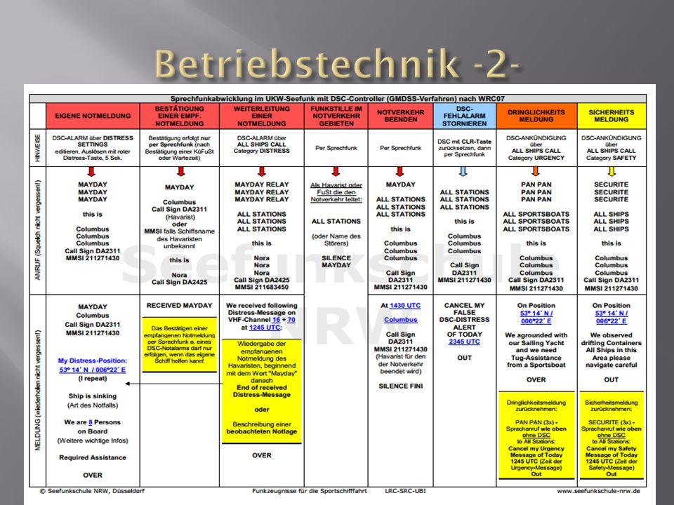 Betriebstechnik -2-