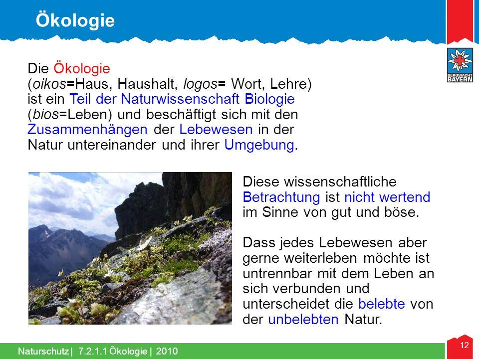 Ökologie Die Ökologie.