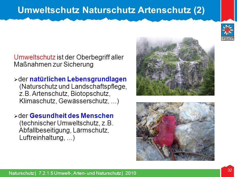 Umweltschutz Naturschutz Artenschutz (2)