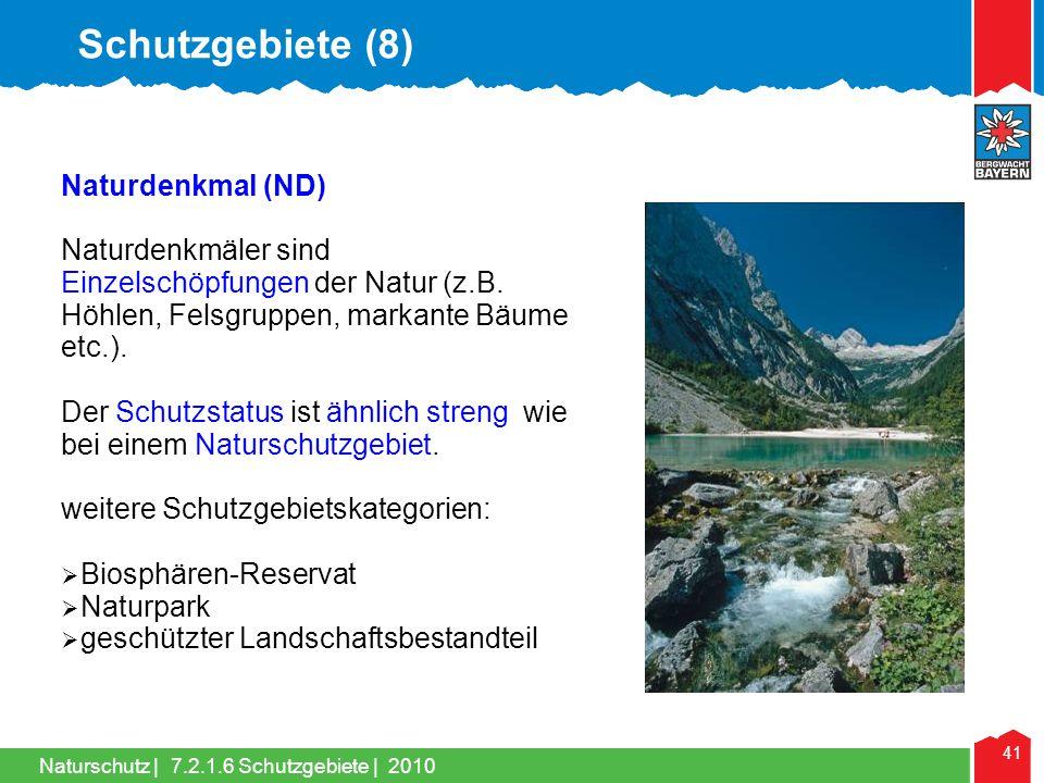 Schutzgebiete (8) Naturdenkmal (ND)