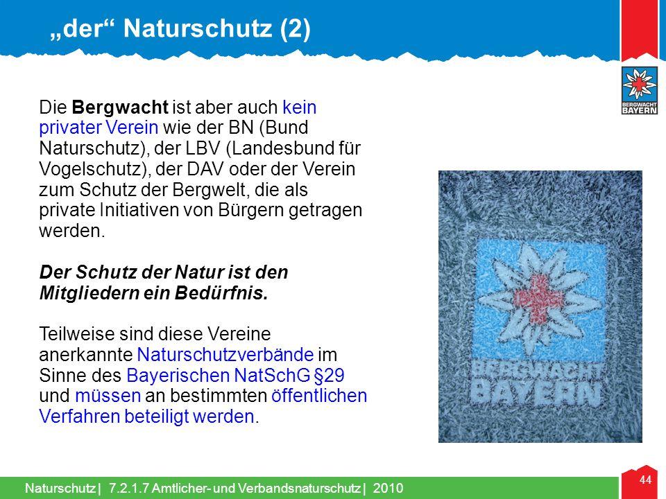 """""""der Naturschutz (2)"""