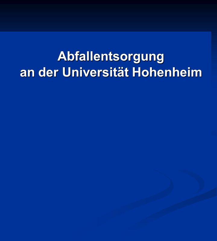 an der Universität Hohenheim