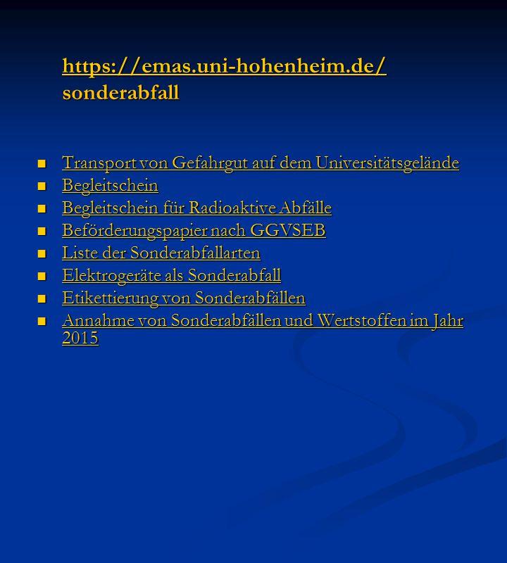 https://emas.uni-hohenheim.de/ sonderabfall