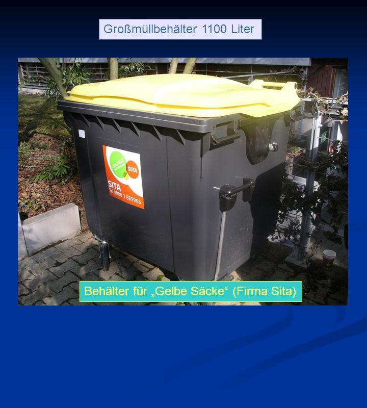 Großmüllbehälter 1100 Liter