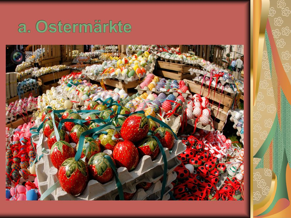 a. Ostermärkte