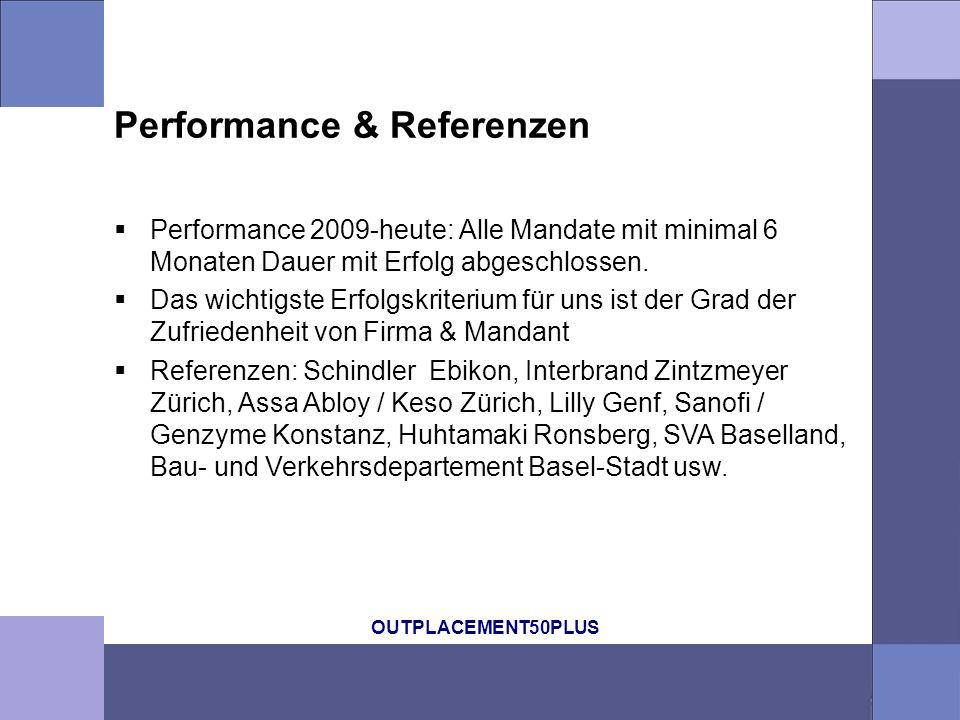 Performance & Referenzen