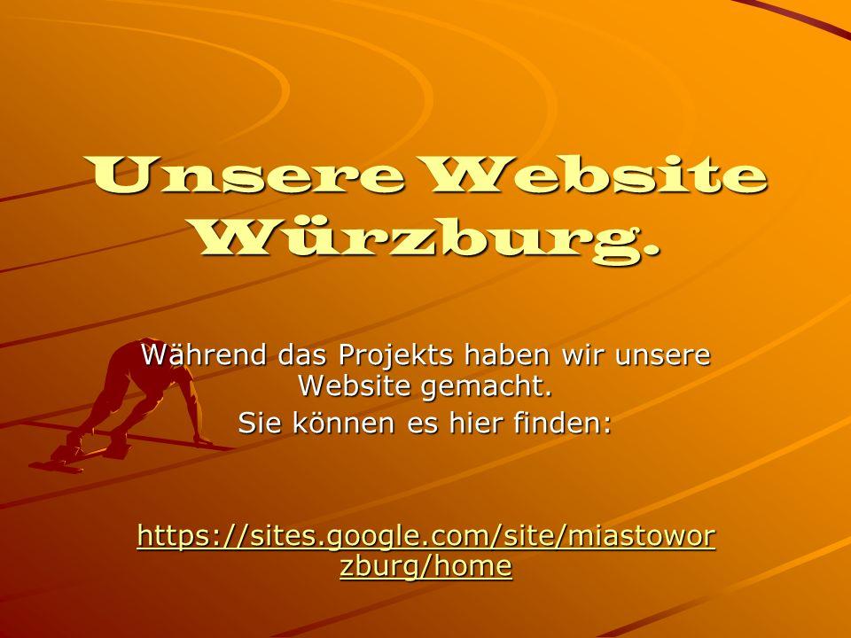 Unsere Website Würzburg.