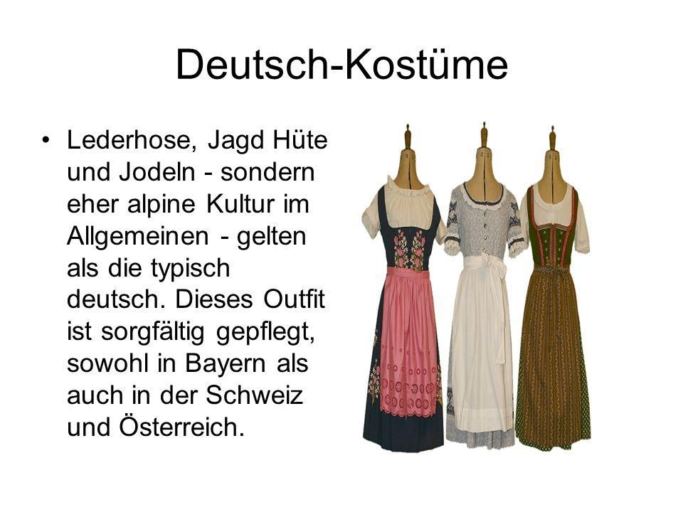 Deutsch-Kostüme