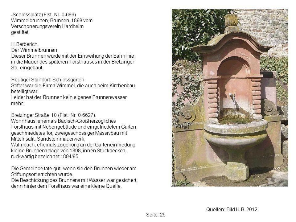 -Schlossplatz (Flst. Nr. 0-686)