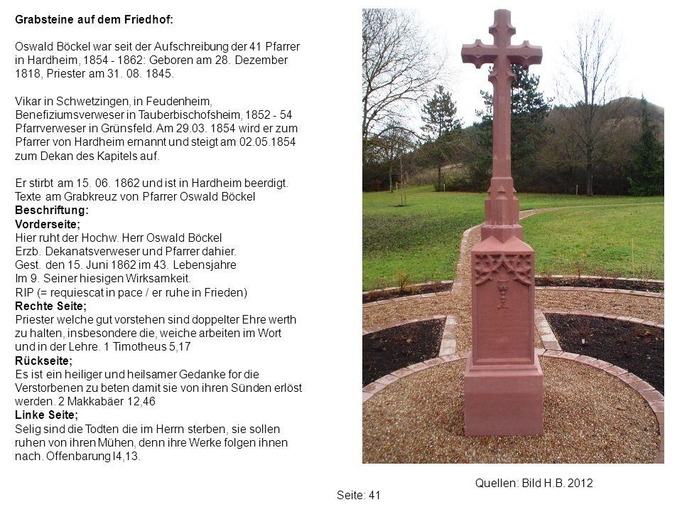 Grabsteine auf dem Friedhof:
