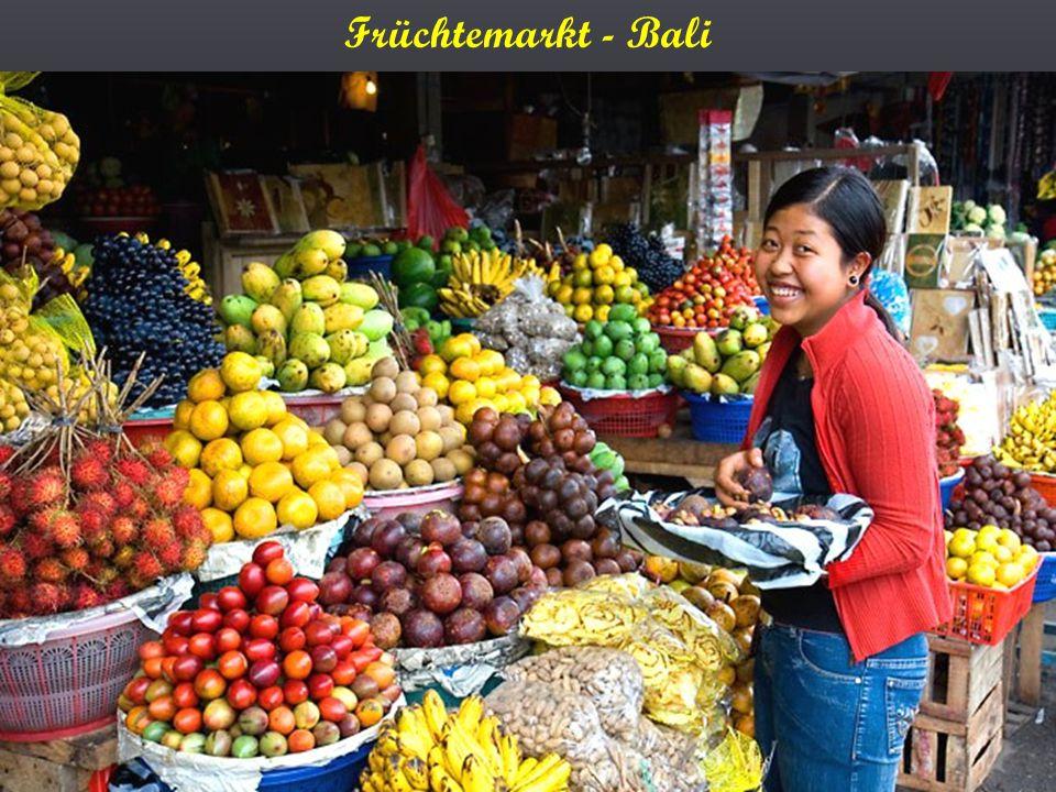 Früchtemarkt - Bali
