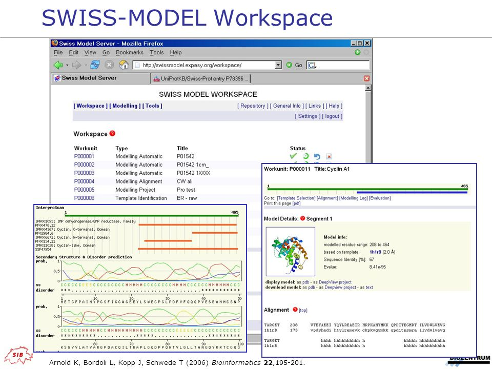 SWISS-MODEL Workspace