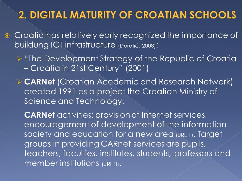 2. DIGITAL MATURITY OF CROATIAN SCHOOLS