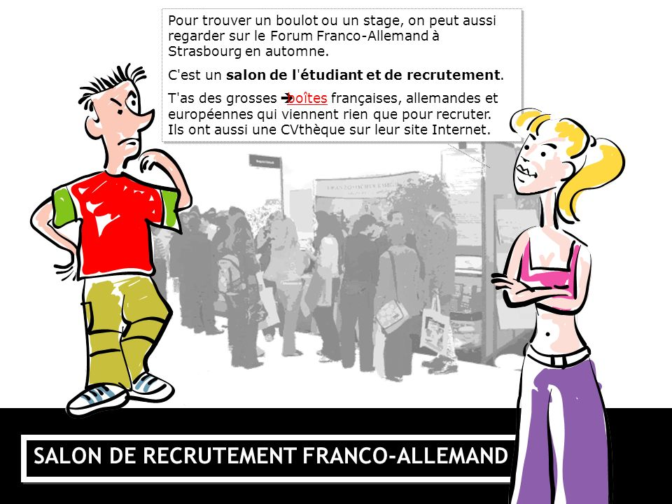 SALON DE RECRUTEMENT FRANCO-ALLEMAND
