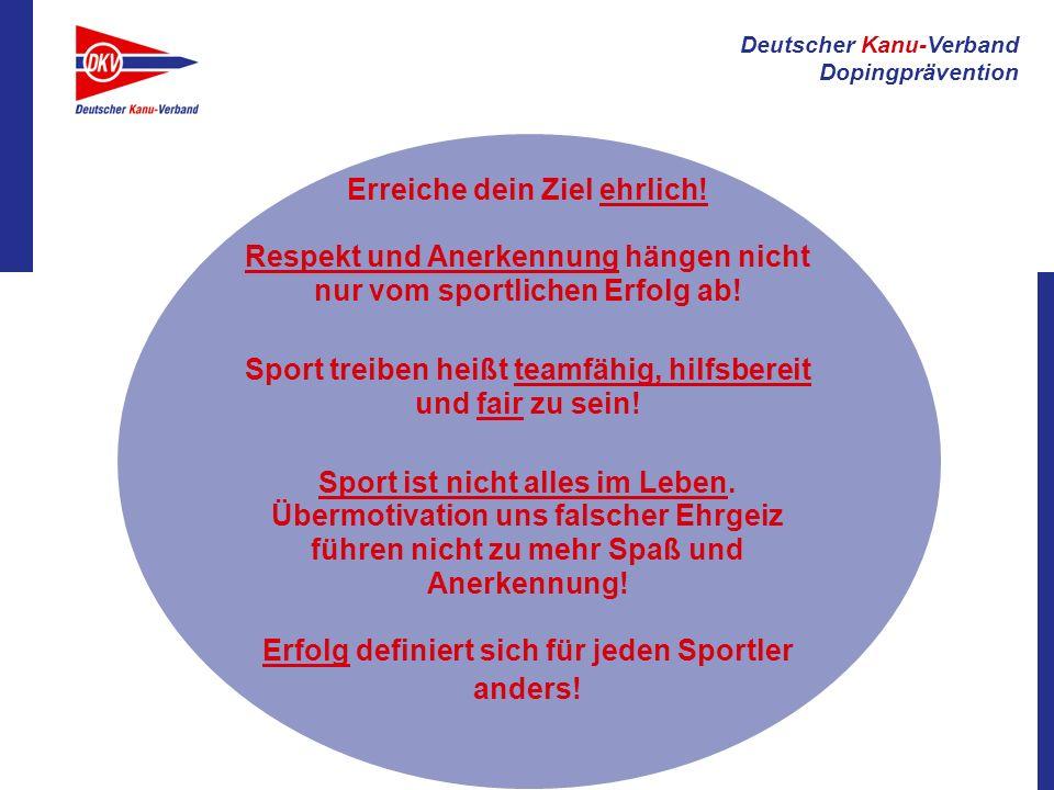 Sport treiben heißt teamfähig, hilfsbereit und fair zu sein!
