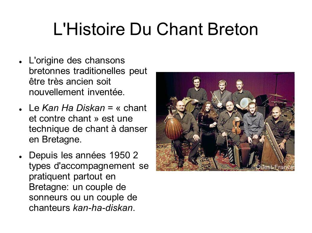 L Histoire Du Chant Breton