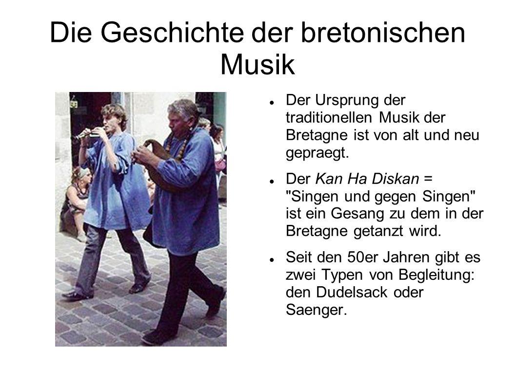 Die Geschichte der bretonischen Musik